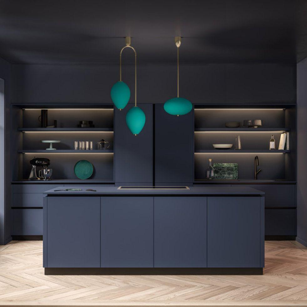 Ambiance signature cuisines noires cuisine moderne photo cuisine moderne et amenagement cuisine - Cuisine ambiance ...
