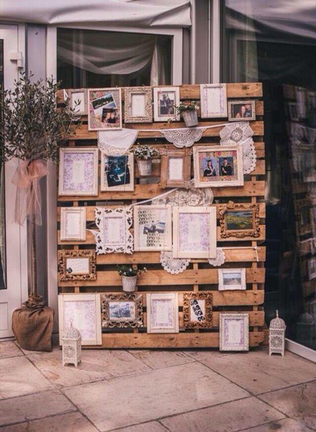 Fotowand hand made pinterest wedding herb wedding - Pinterest fotowand ...