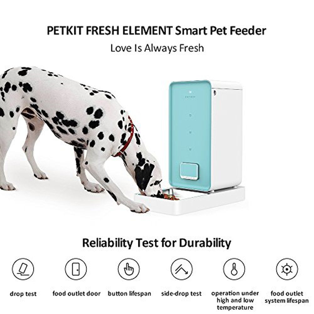 Petkit Elewh Element Smart Pet Feeder You Can Get More Details By Clicking On The Image This Is An Affiliate Lin Pet Feeder Pet Food Dispenser Smart Feed