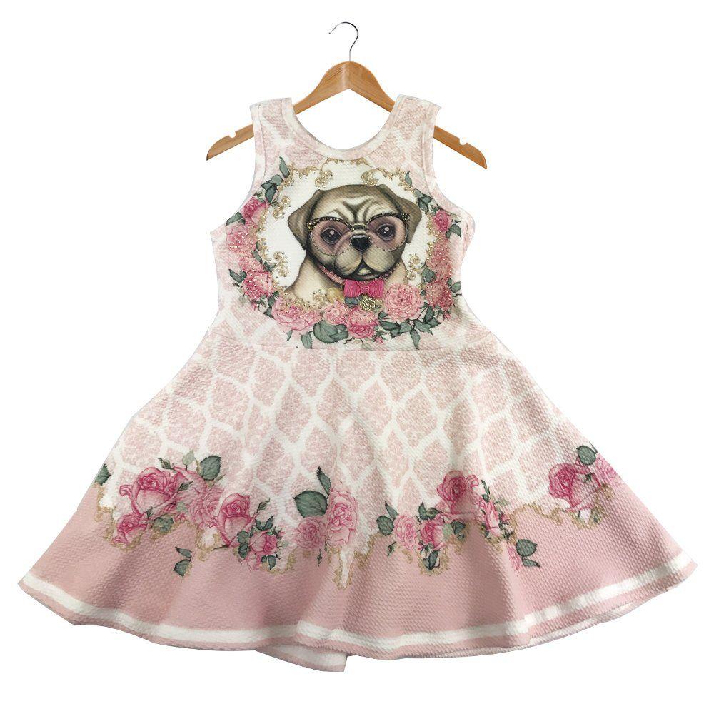 a22e59186 Vestido Cachorro Petit Cherie - Comprar em Très Bébé   infantil ...