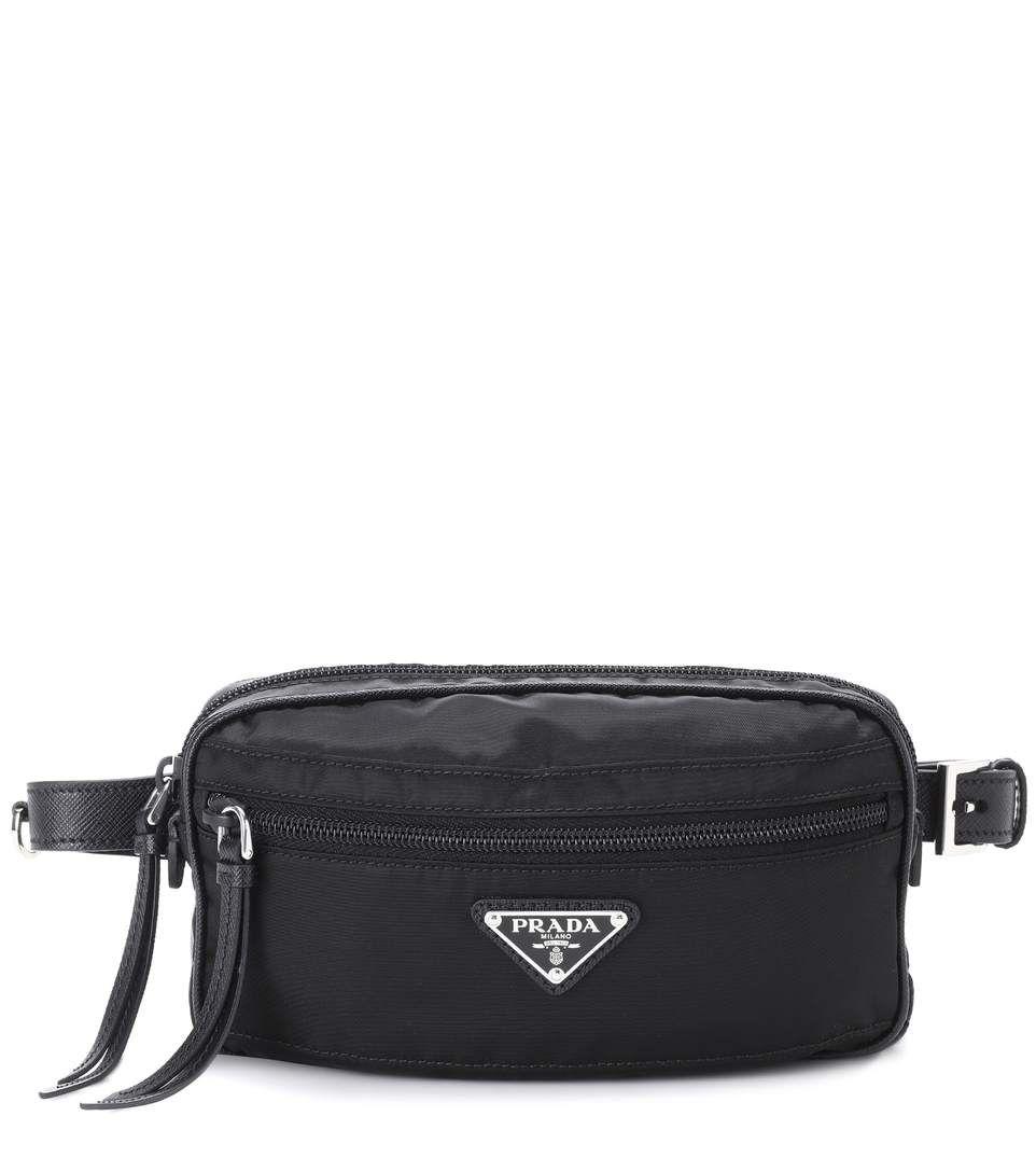 cec20a15 PRADA Belt bag. #prada #bags #leather #belt bags #nylon #lining ...