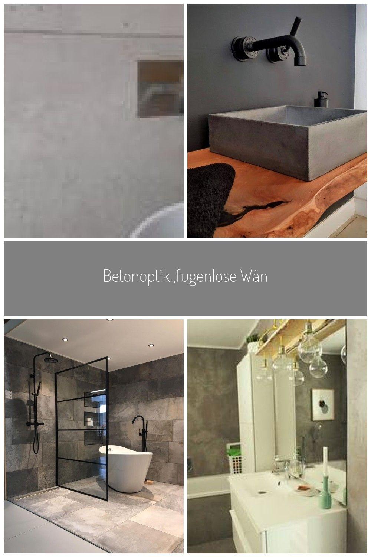 Betonoptik Fugenlose Wande Ausgefallene Badezimmer Von Ulrich Holz Baddesign Ausgefallen Beton B Lighted Bathroom Mirror Bathroom Mirror Bathroom Lighting