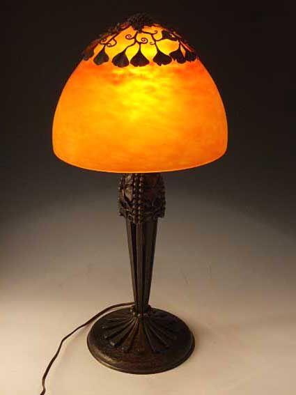 Edgar Brandt Lamp