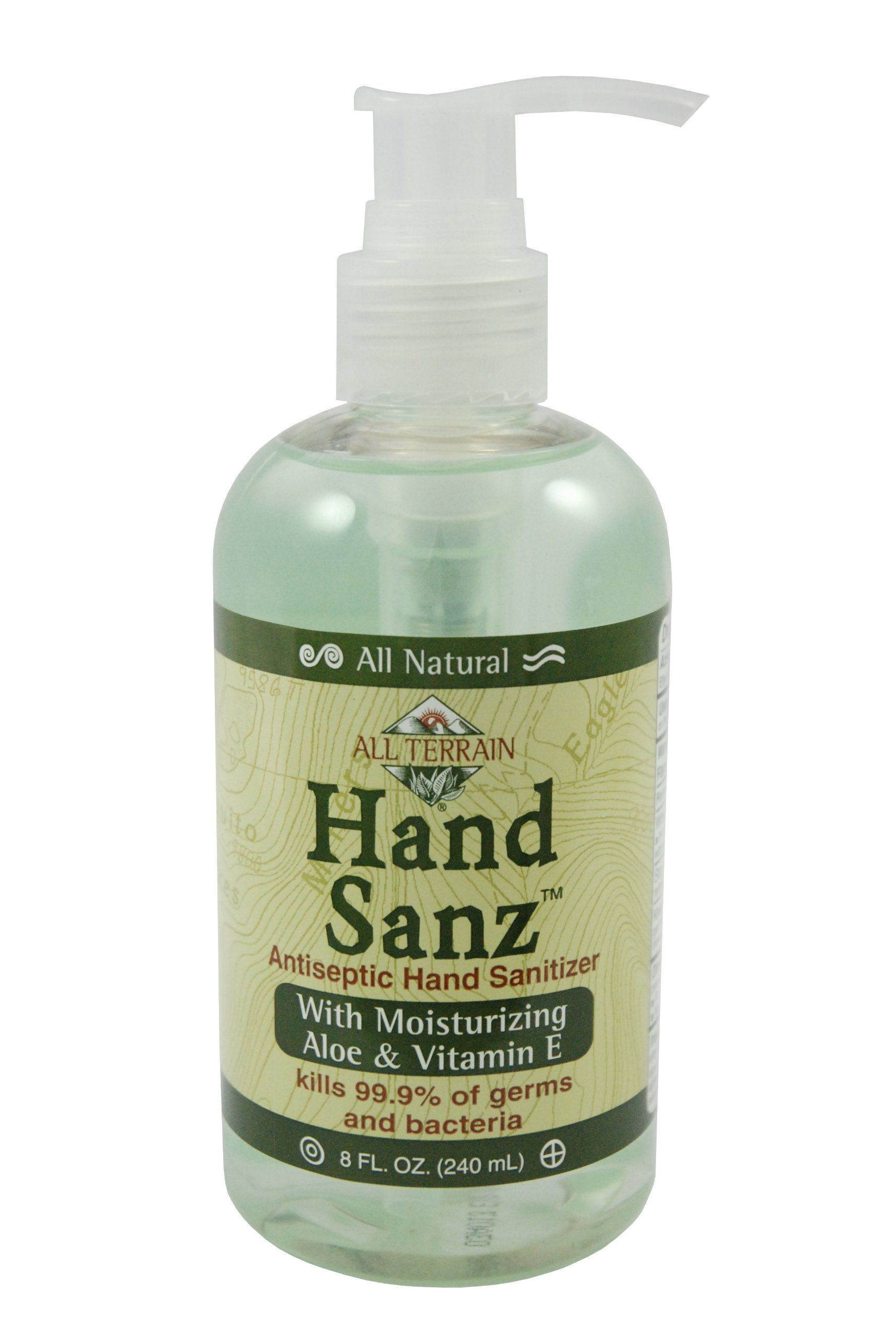 All Terrain Natural Hand Sanitizer Gel With Aloe And Vitamin E 2