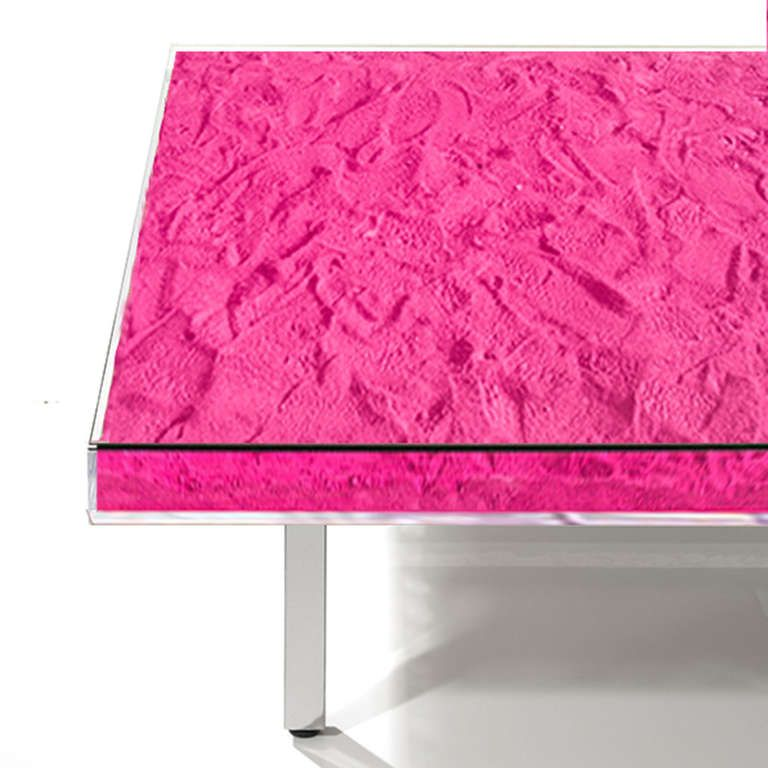 Table Monopink By Yves Klein In 2019 Pink Think Yves