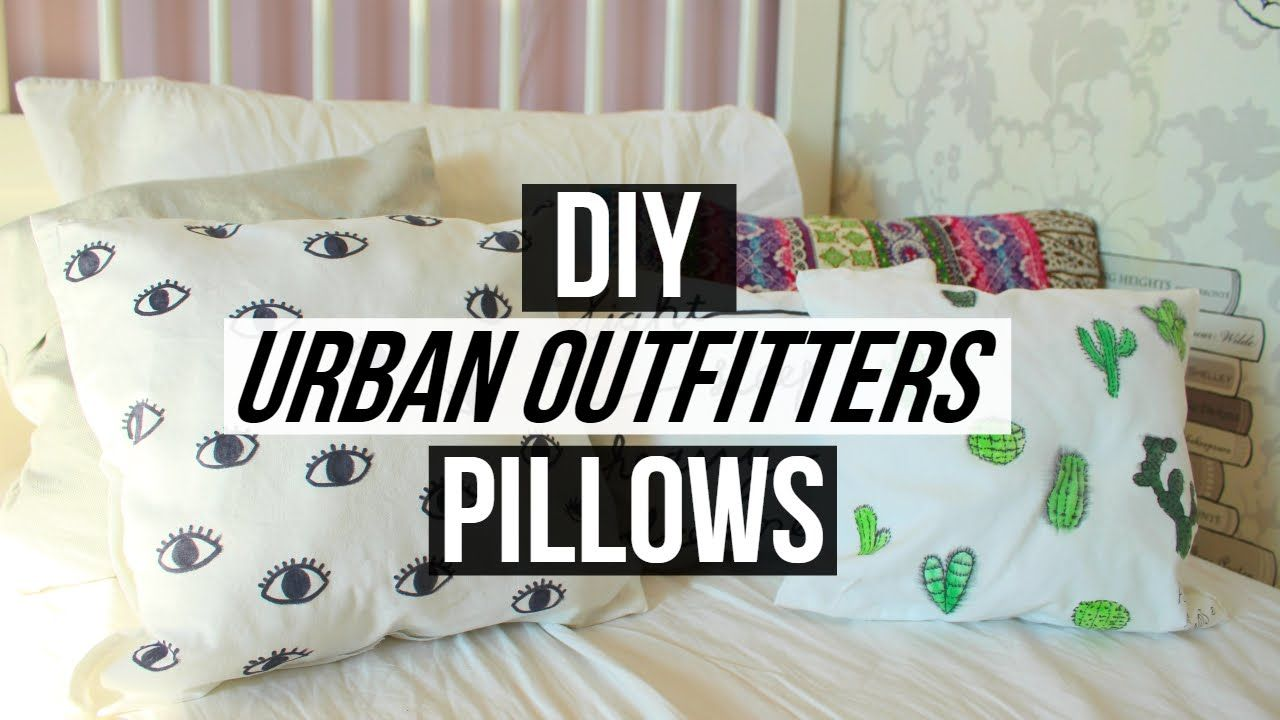 Diy Urban Outfitters Pillows For Room Decor Urban Outfitters Pillows Tumblr Room Decor Room Diy