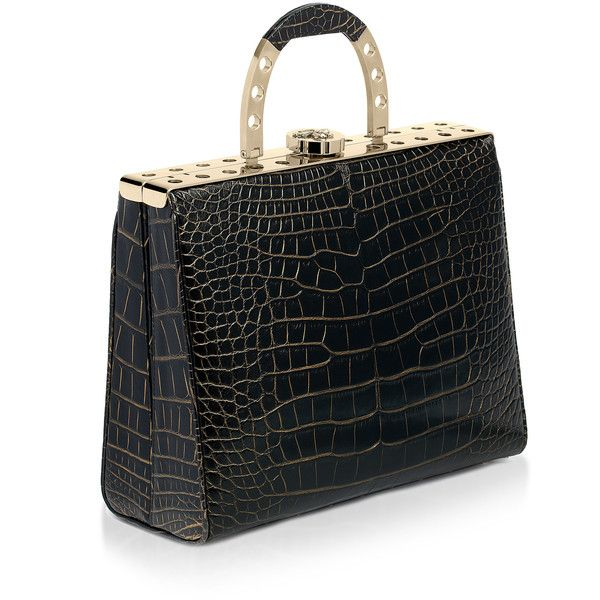 Bougeotte Anium Best Secret Keeper Purse In Black And Gold