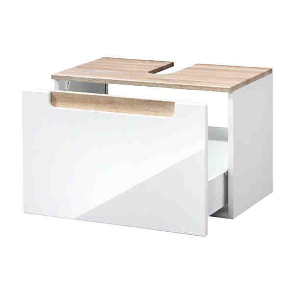 HELD MÖBEL Waschbeckenunterschrank »Siena«, Breite 60 cm - badezimmer 60 cm