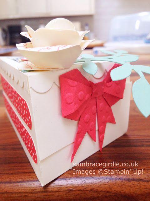 Cake Slice Gift Box Paper Cake Box Cake Slice Boxes Cake Favor Box
