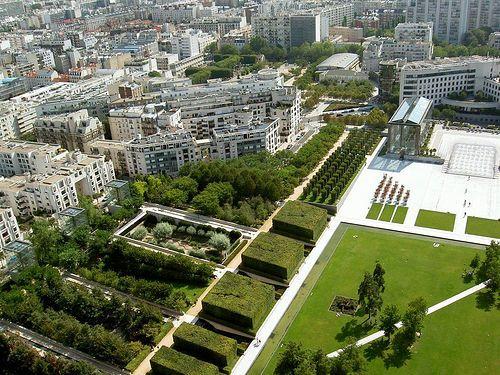 Parc Andre Citroen By S3k Via Flickr Abc Education Park Urban Landscape