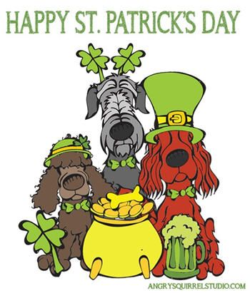 St Patrick S Day Dogs Free Printable Coloring Page Woof Woof Mama St Patrick S Day St Patrick S Day Photos Happy St Patricks Day