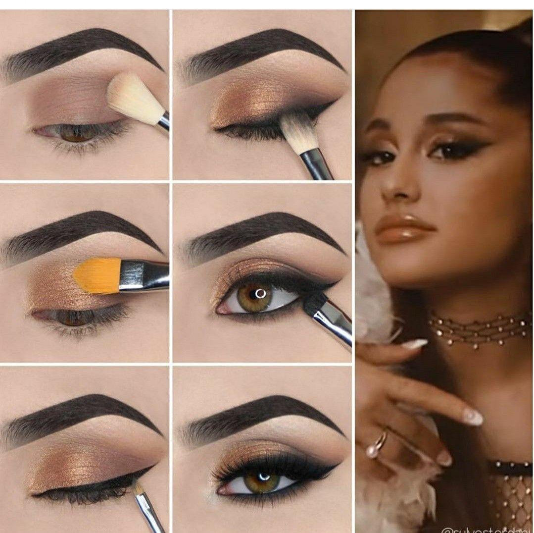 13 neue Augen Make-up Tipps Schritt für Schritt mit Bildern zu Hause