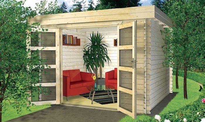 Le Top Des Abris De Jardin 45 Idees Design In 2020 With Images Outdoor Patio Outdoor Decor Patio