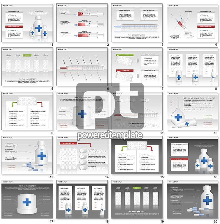 Medical Charts And Shapes  Powerpoint Charts And Diagrams