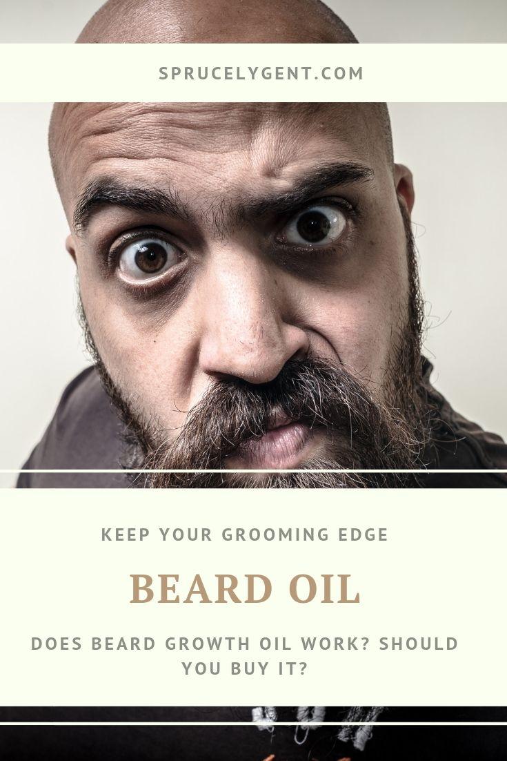 Does beard growth oil work? Should you buy it? | Beard ...