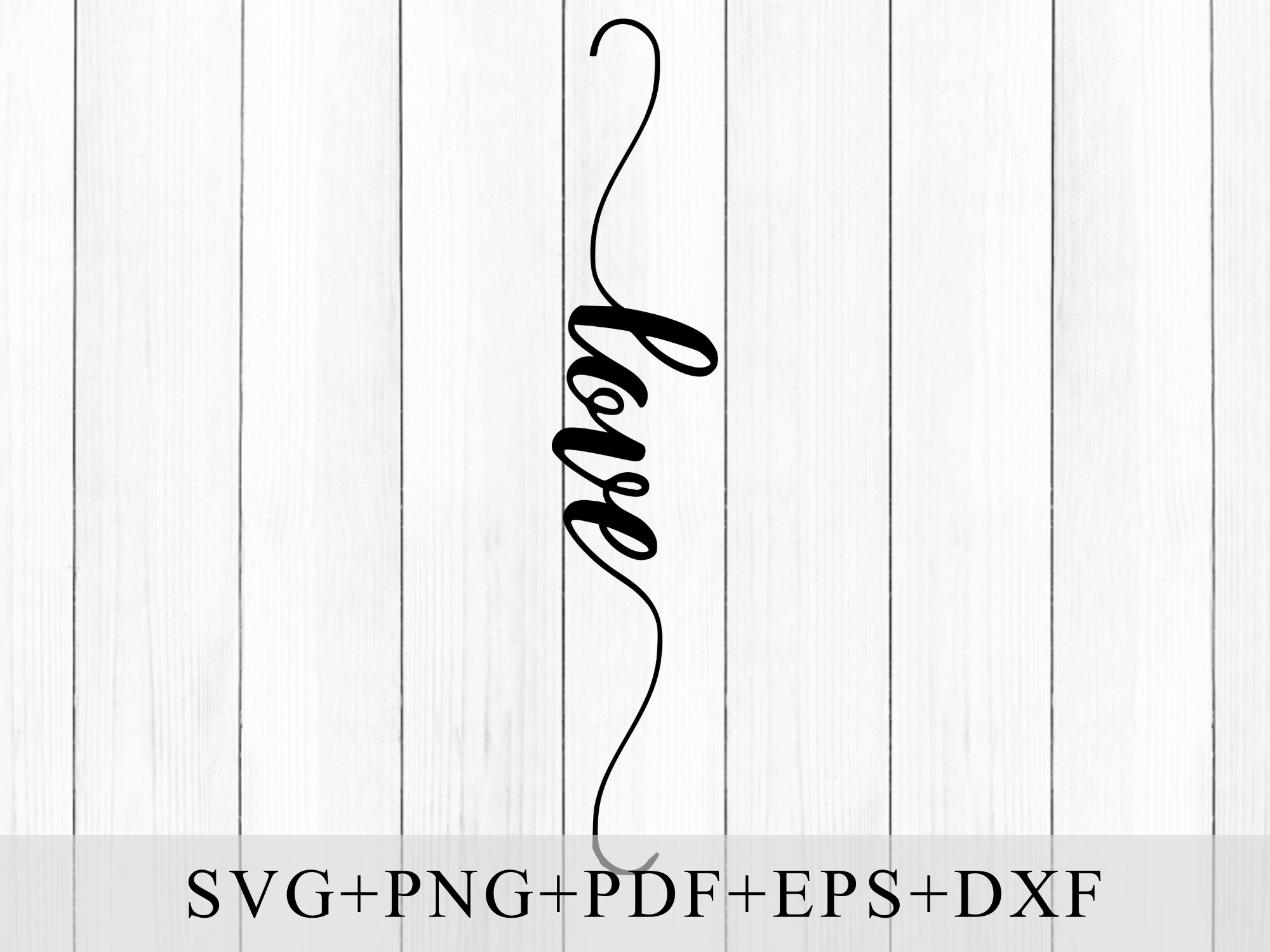 Handwritten Love Script Type SVG (Graphic) by Mockup Venue