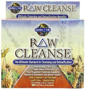 Garden Of Life Raw Cleanse Havent Seen This Product Before But Mightttt Need To Try This With Images Natural Detoxification Detox Pills Detox Formula