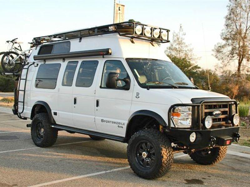 Roof Racks Aluminess Products Inc 4x4 Van 4x4 Camper Van Sportsmobile