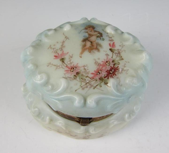 Details About Antique Victorian Art Glass Cf Monroe