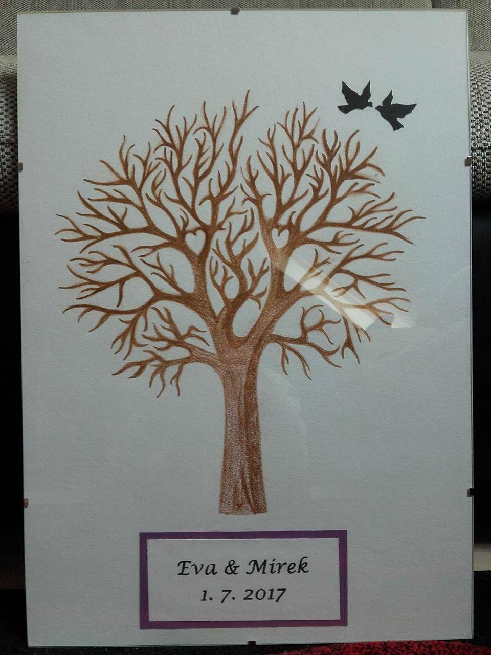 Svatebni Strom Tradicni S Leticimi Ptacky Nabizim Kreslene Ci