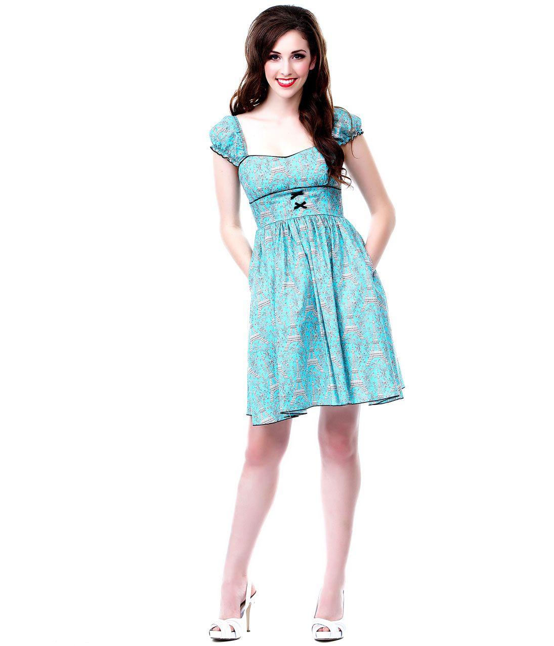 Unique Vintage | Sleeved dress, Unique vintage and Vintage prom