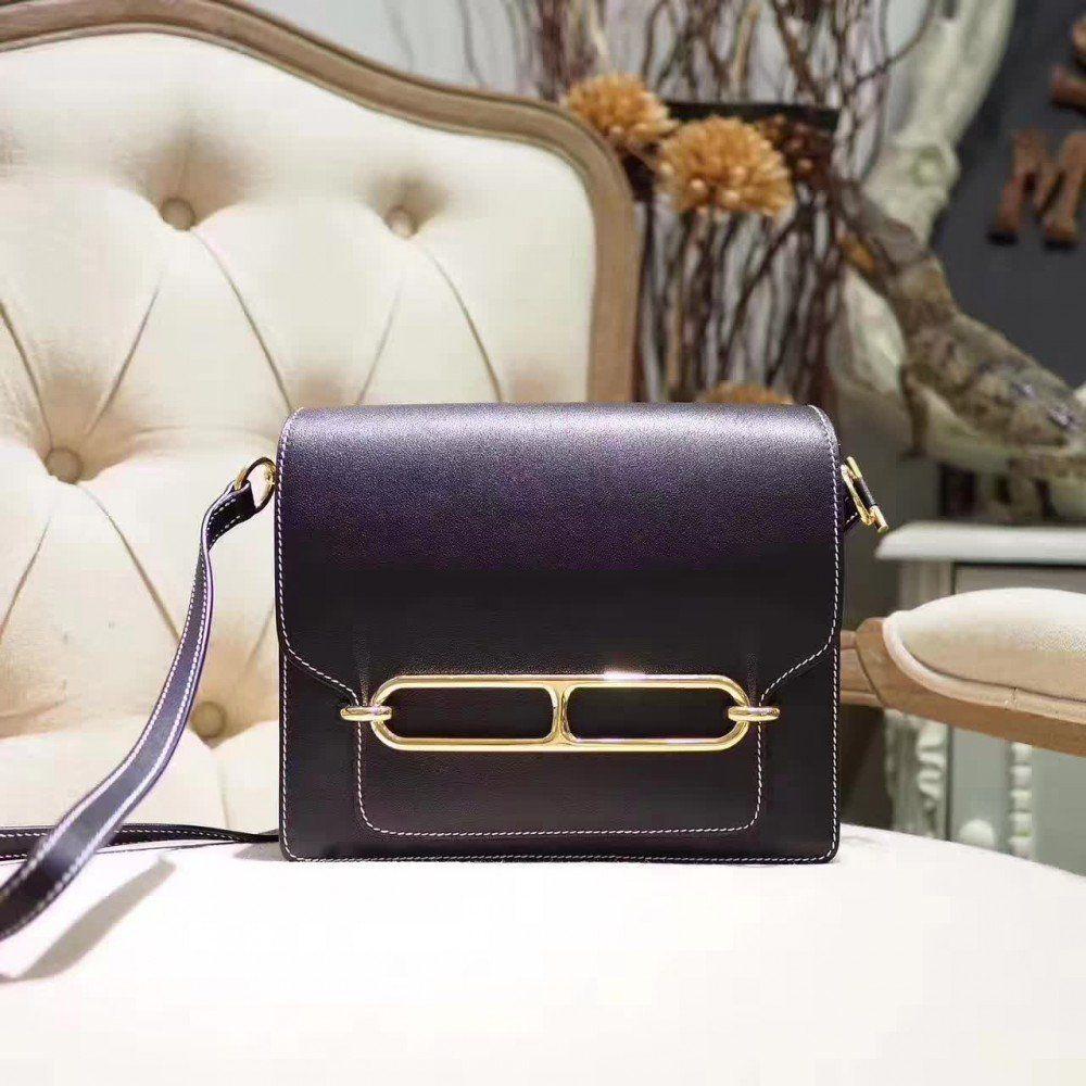 111959a95850 Hermes Roulis 23 Black bag