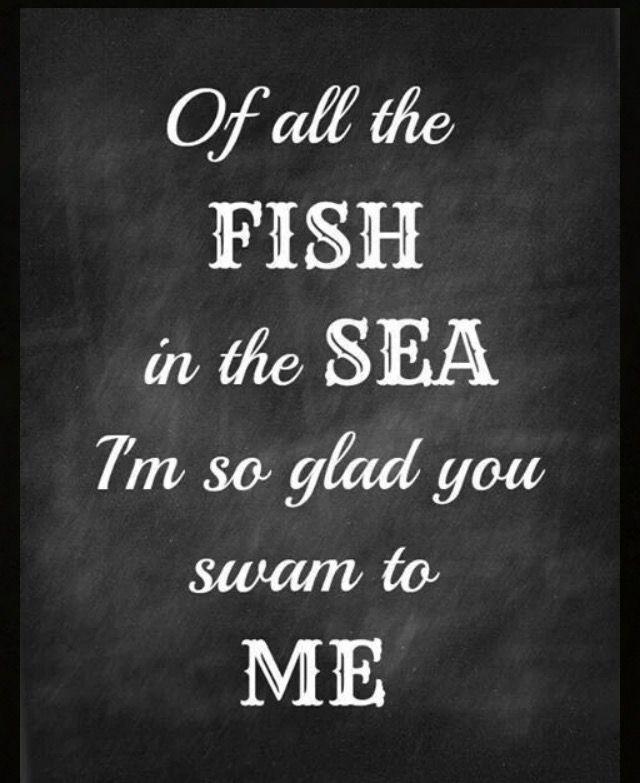 Fish, Sea and Me