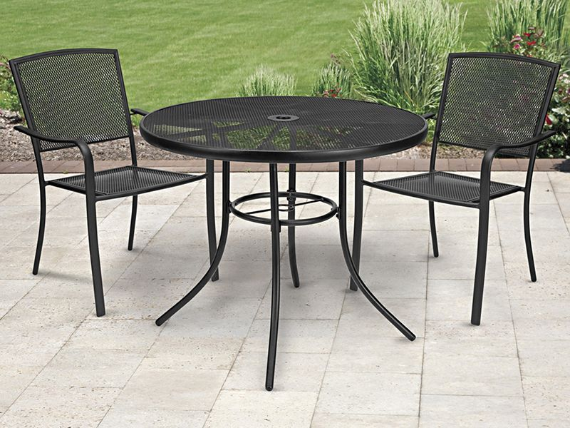 Outdoor Round Tables Outdoor Restaurant Tables In Stock Uline