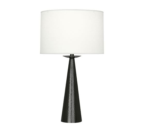 Danielle Tapered Table Lamp Pottery Barn In 2020 Table Lamp Geometric Table Lamp Lamp