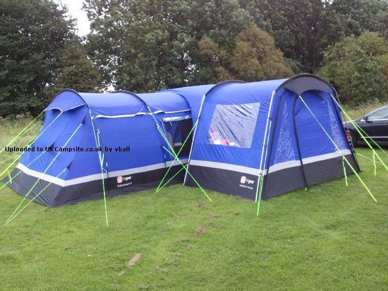 Hi Gear Kalahari Elite 8 Tent Bundle