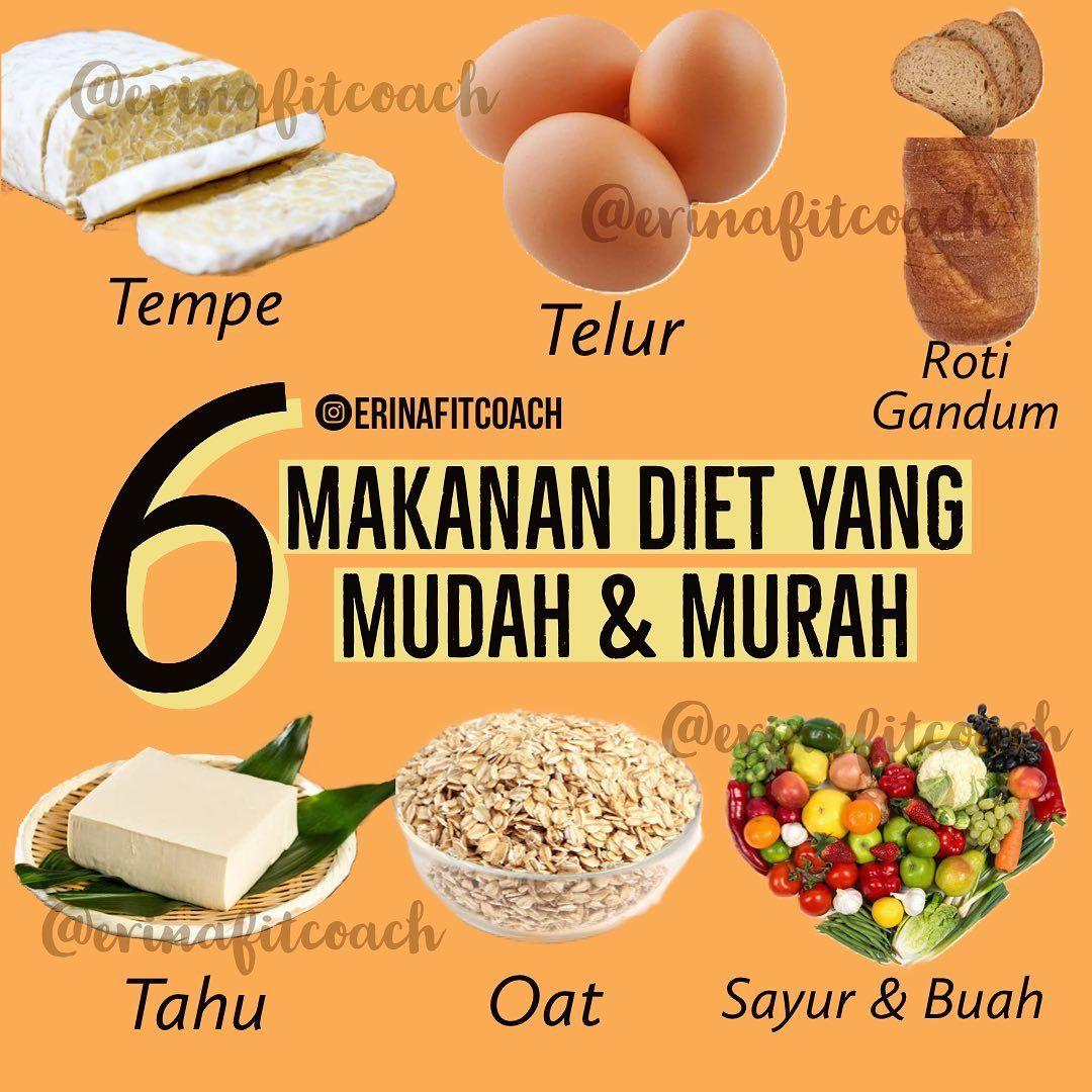 Makanan Diet Yang Mudah Murah Makanan Diet Diet Makanan