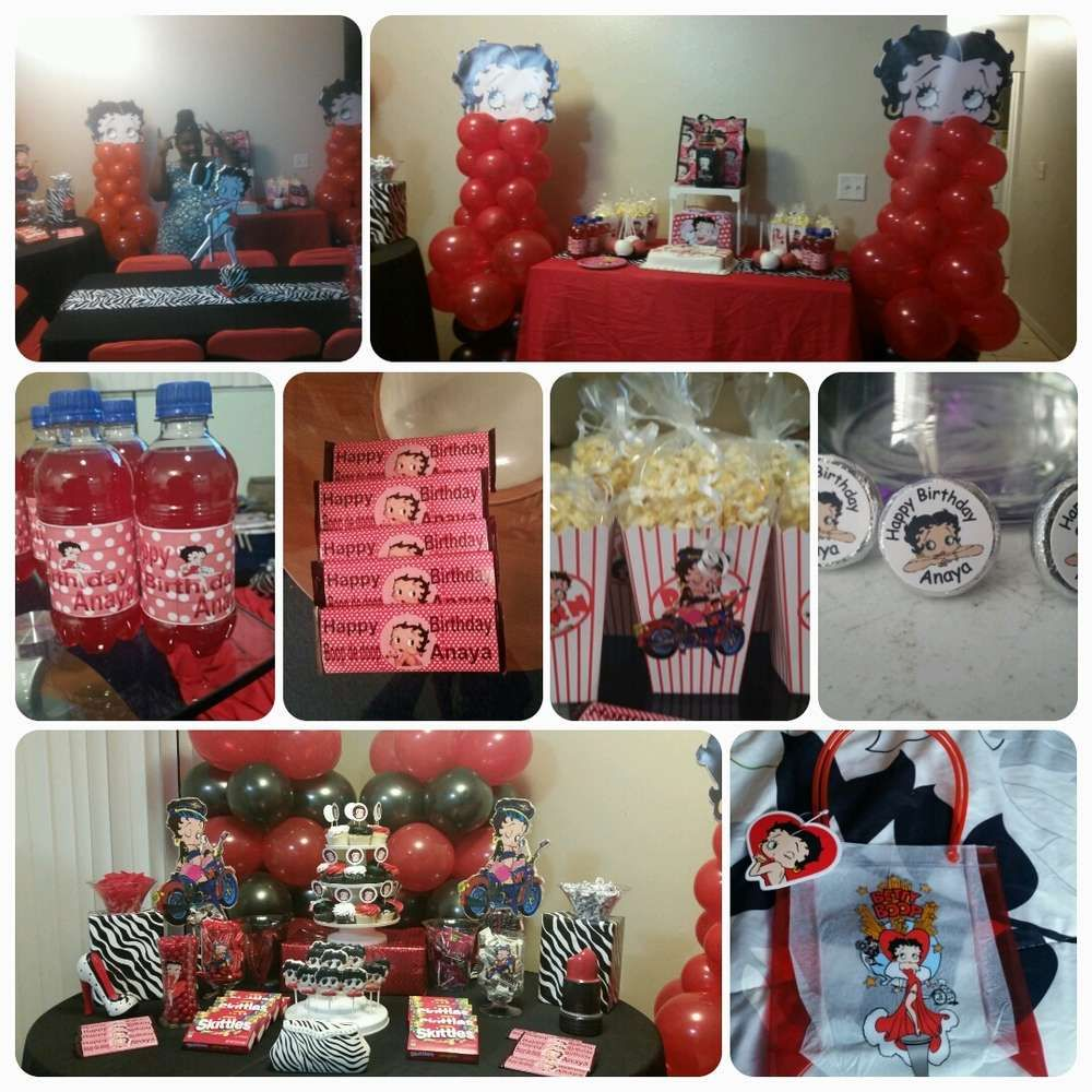 Southern Blue Celebrations: Betty Boop party ideas