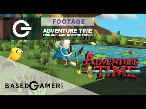 Adventure Time Finn And Jake Investigations Video Game Footage