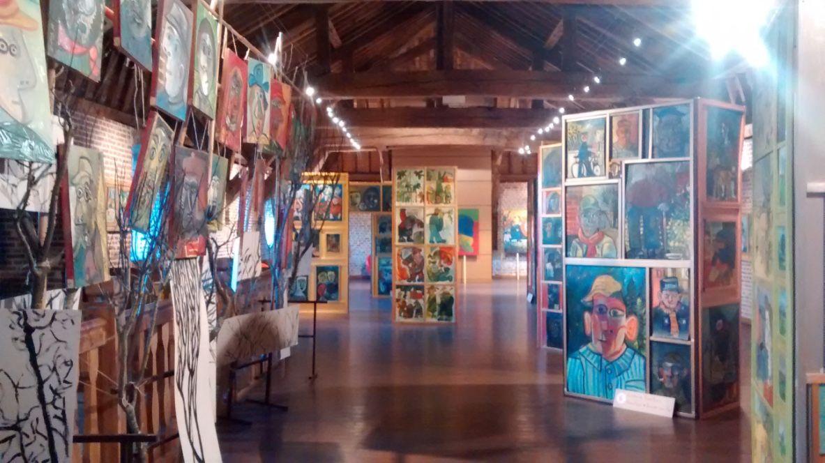 exposition à la Maison Folie, Maubeuge, mars 2017 Expositions