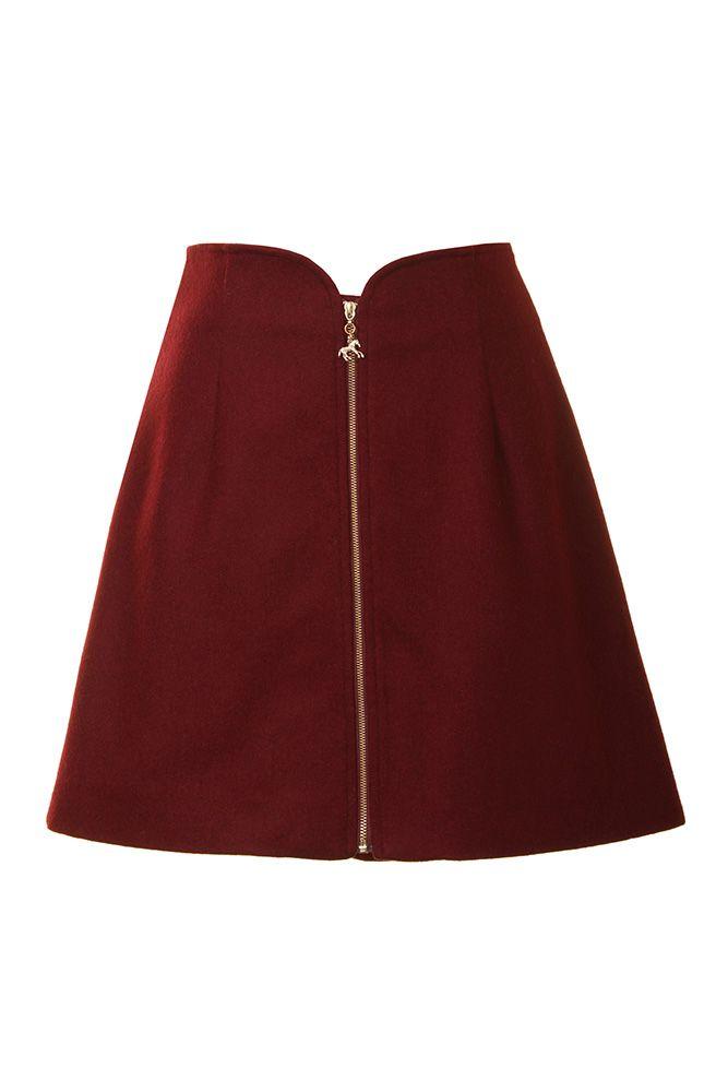 Gymkhanna Skirt (Maroon) (2)