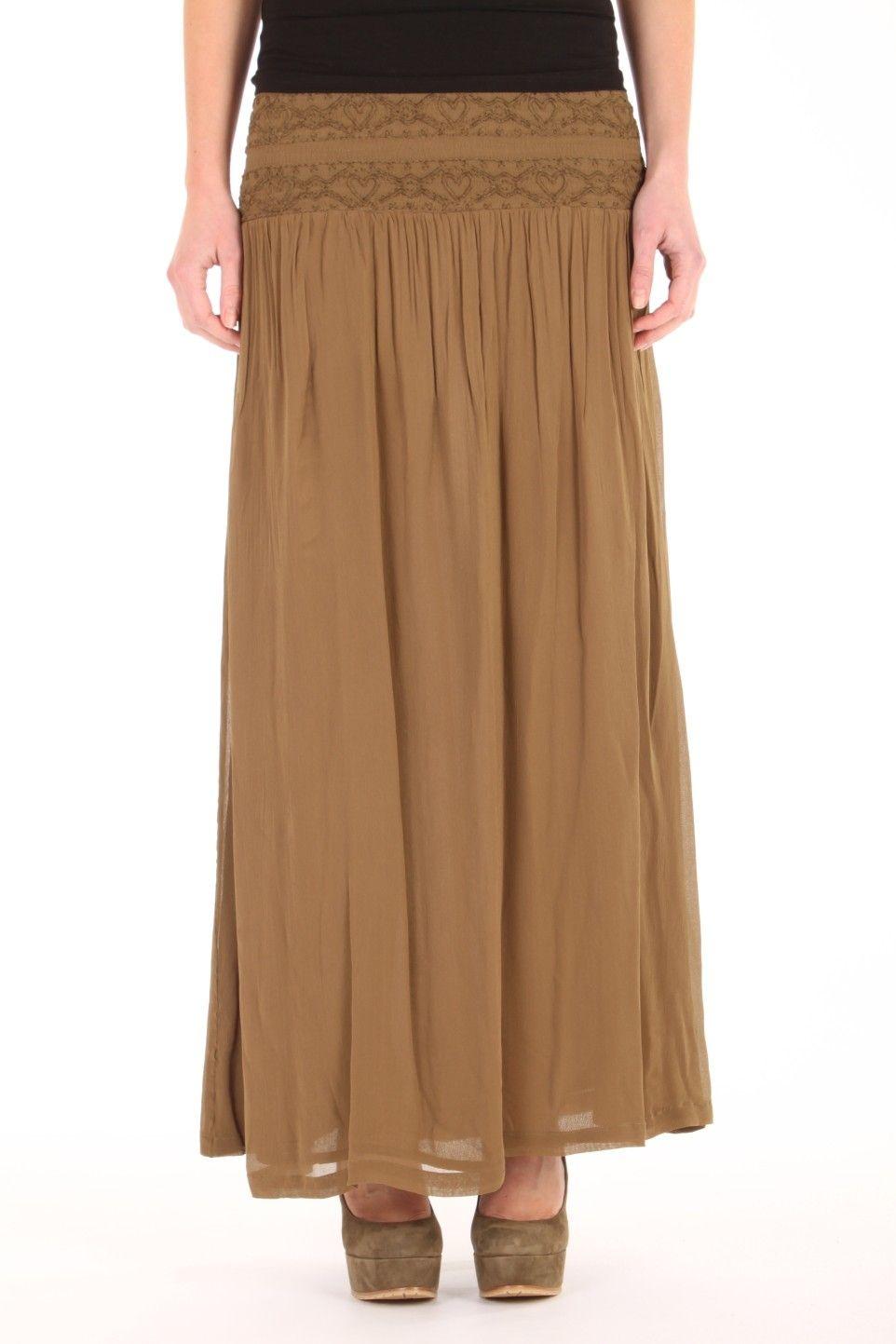 lange rok jurk