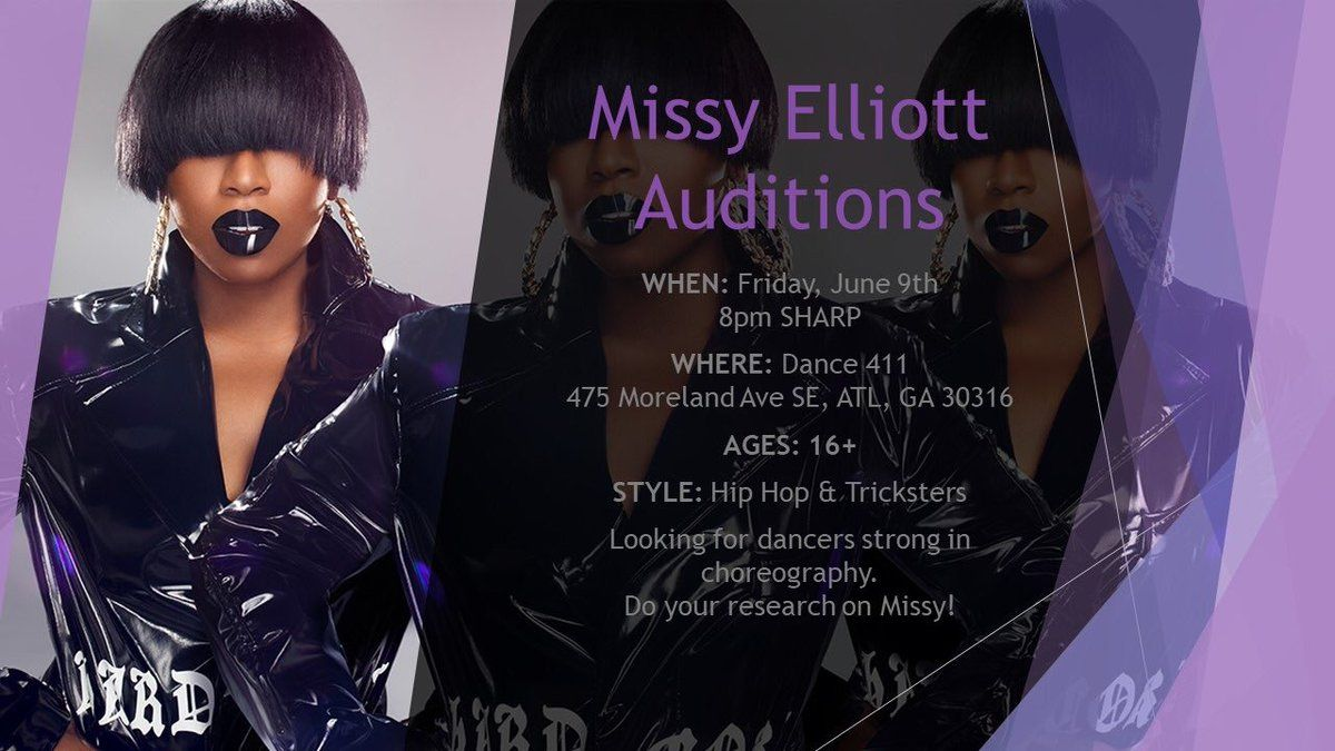 Hip Hop & Dance Queen Missy Elliot Auditioning for Dancers and Tricksters