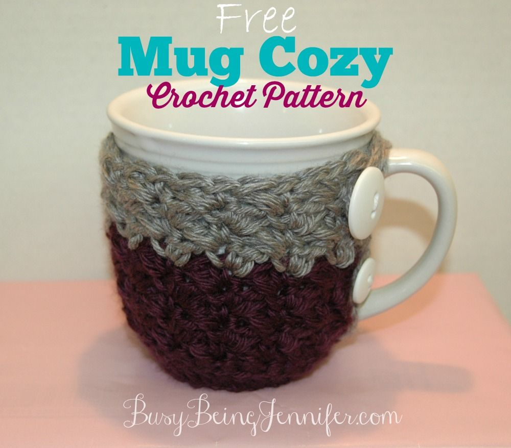 Old Fashioned Mug Cozy Crochet Pattern Free Images - Sewing Pattern ...