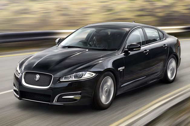 Jaguar Xf Gets Performance Look R Sport Trim With Images Black