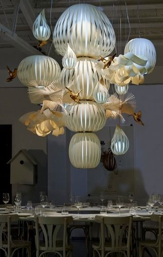 'Candelabro 15 Dimmable Suspension Lamp by LZF. @2Modern'