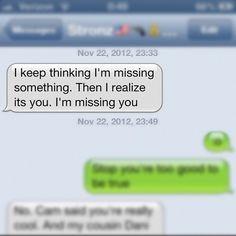 How to melt a girl through text