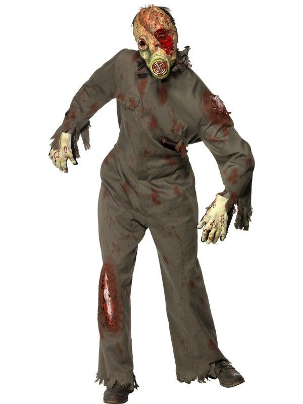 zombie gas mask costume 5299