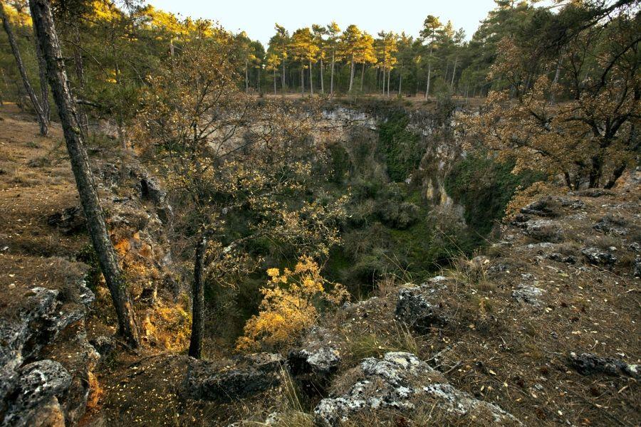 Paisaje de #Cuenca, lugares preciosos en la serranía