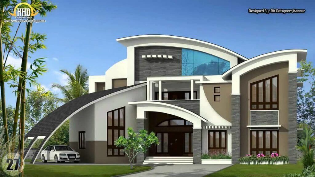 Top 40 Most Beautiful Houses 2019 Engineering Discoveries Kerala House Design Unique Houses Unique House Design