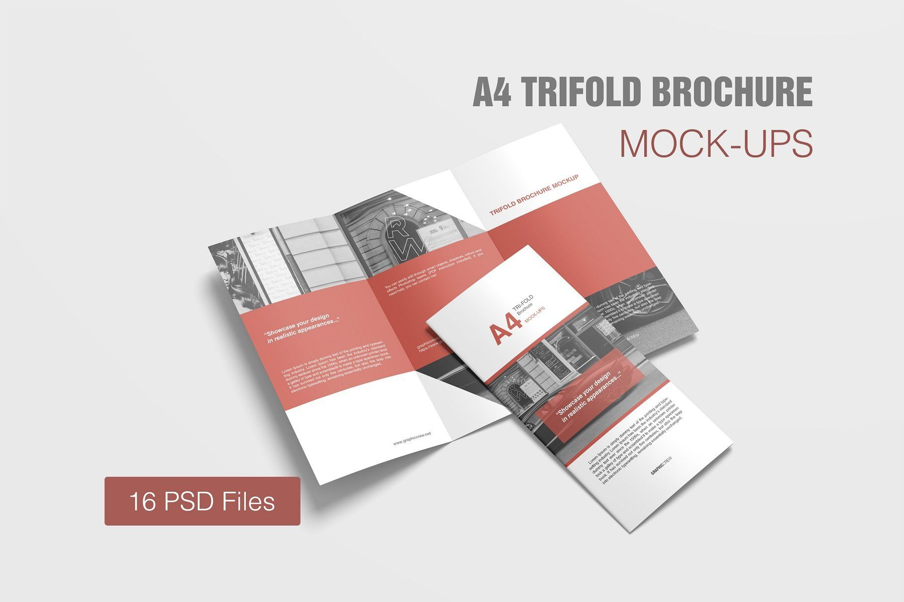 A4 Trifold Brochure Mockup Brochure Mockup Psd Design Mockup Free Trifold Brochure