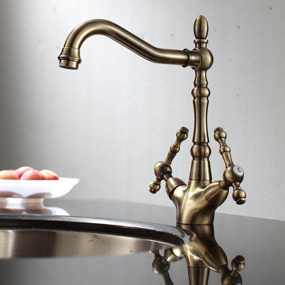 House Of Enki Victoria Kitchen Tap Antique Bronze Gbp 49 99 10 Off