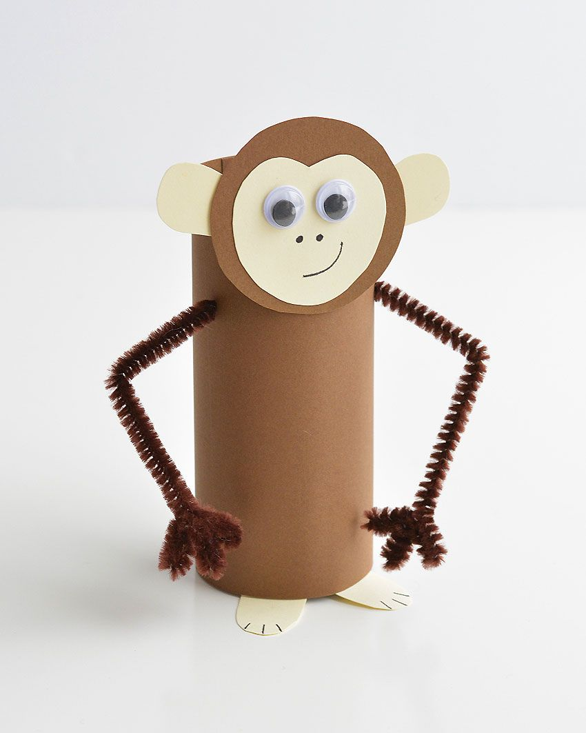 Paper Roll Animals Inspired by Wonder Park