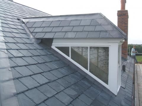 Lead Ridge Cover Roof Lead Gutters Fascias Garage