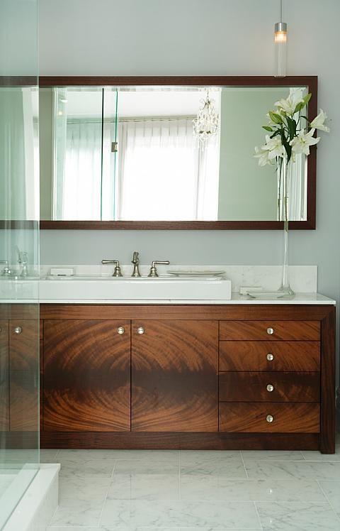 Sarah Richardson Design Inc Season 2 Catherines Bathroom Unique Bathroom Vanity Modern