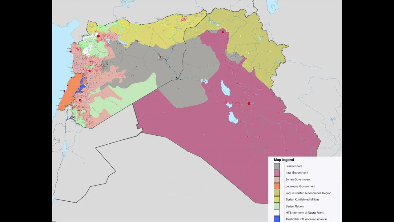 More maps of Syrian Civil War u003eu003e